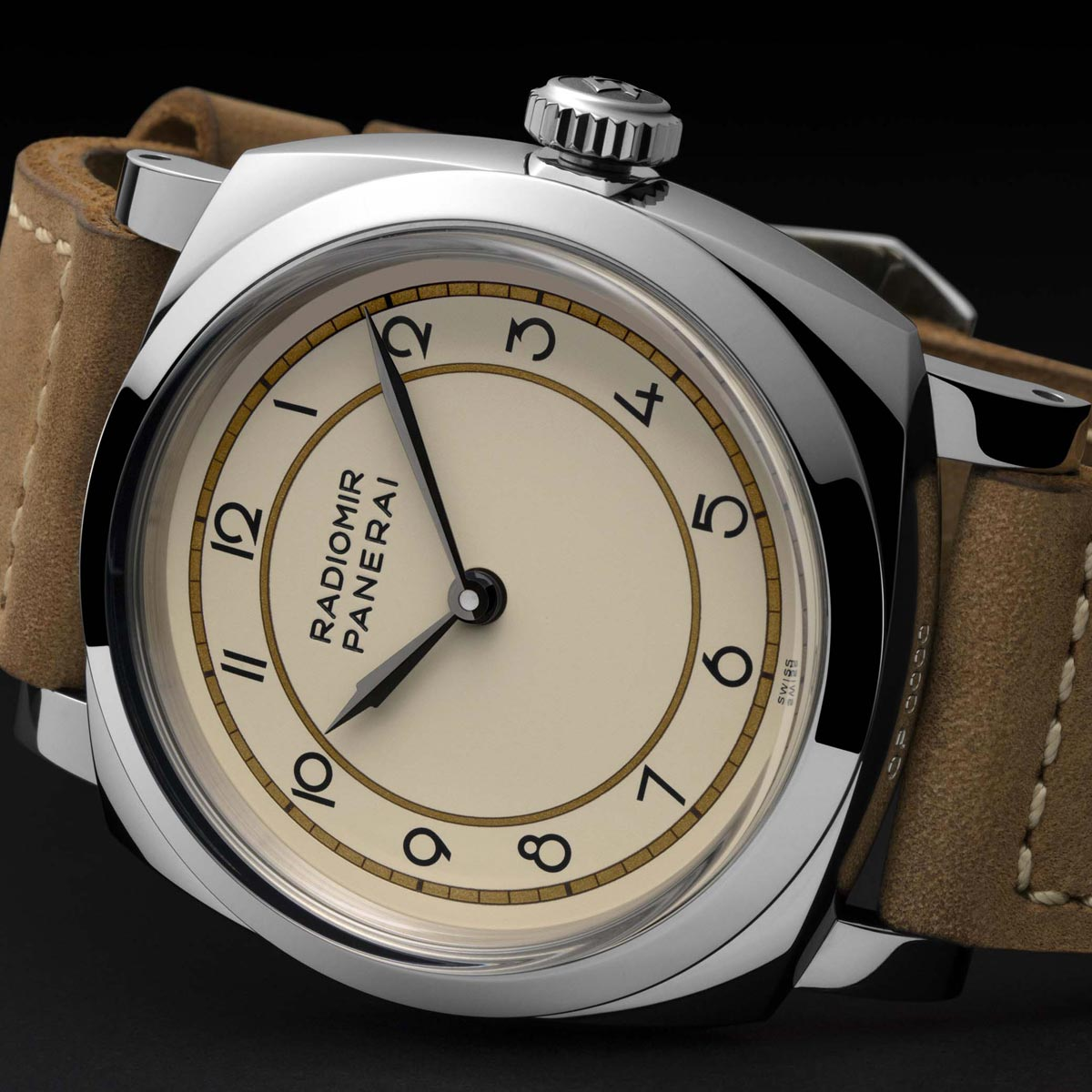 La Cote des Montres : Photo - Panerai Radiomir 1940 3 Days Acciaio – 47mm