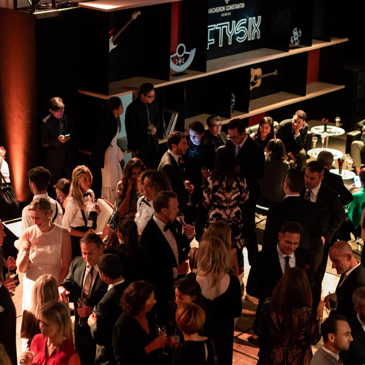 La Cote des Montres : Photo - Vacheron Constantin présente la collection Fiftysix® dans les célèbres studios Abbey Road à Londres