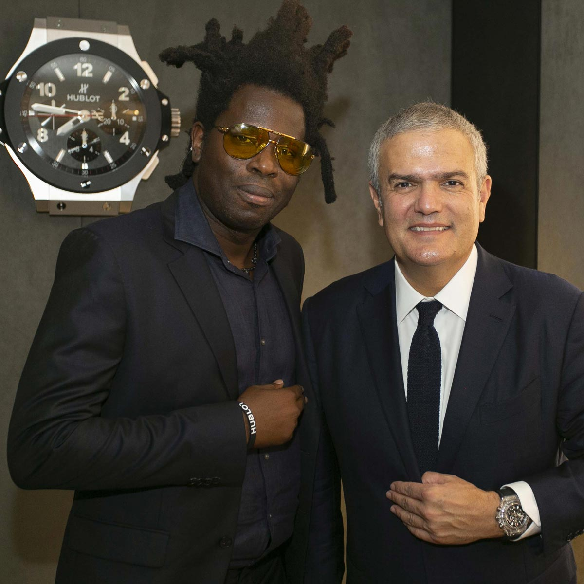 The Watch Quote: Photo - Hublot opens London flagship boutique  in the presence of Lara Stone, Dina Asher-Smith  and Chelsea FC Players