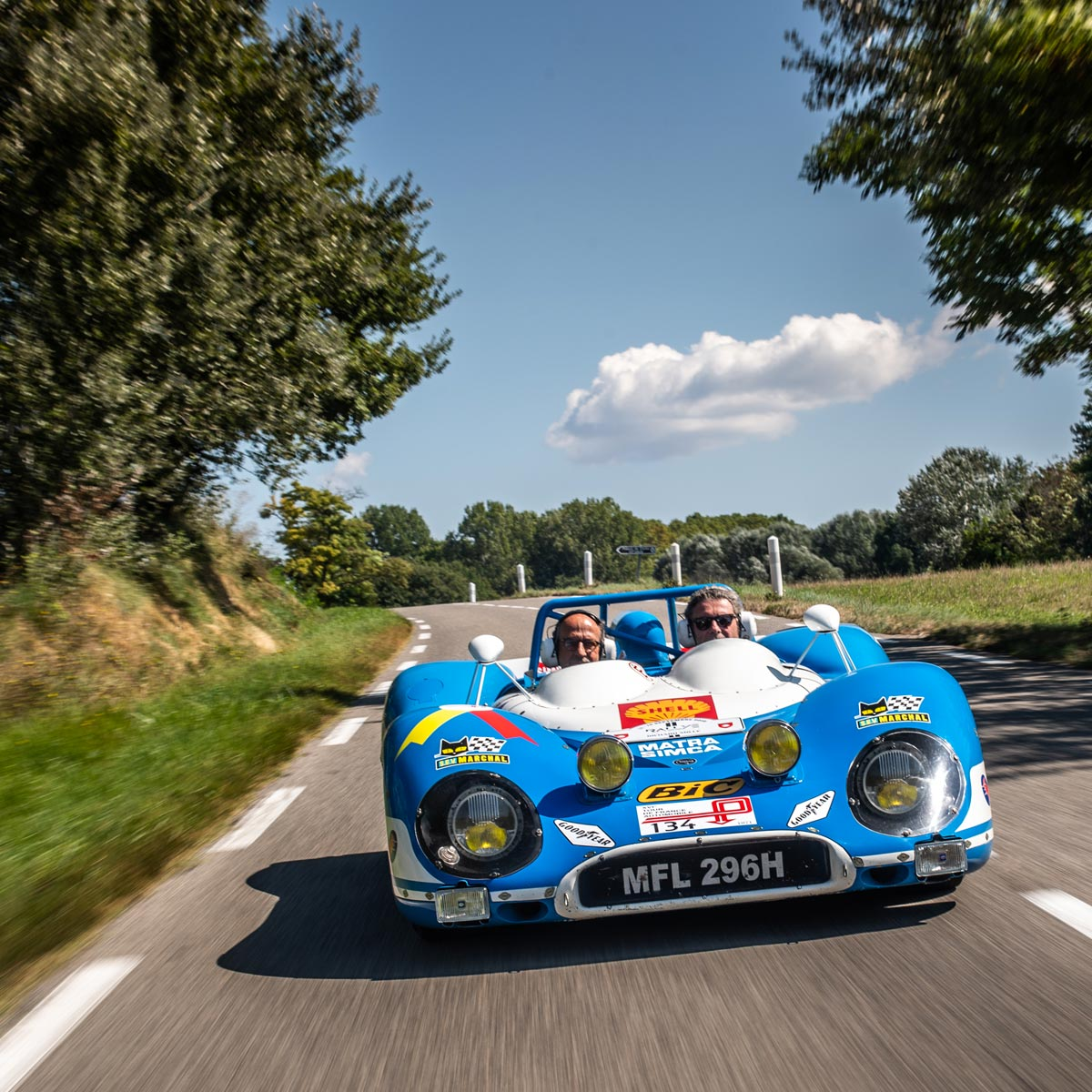 La Cote des Montres : Photo - Rallye des Légendes Richard Mille 2018