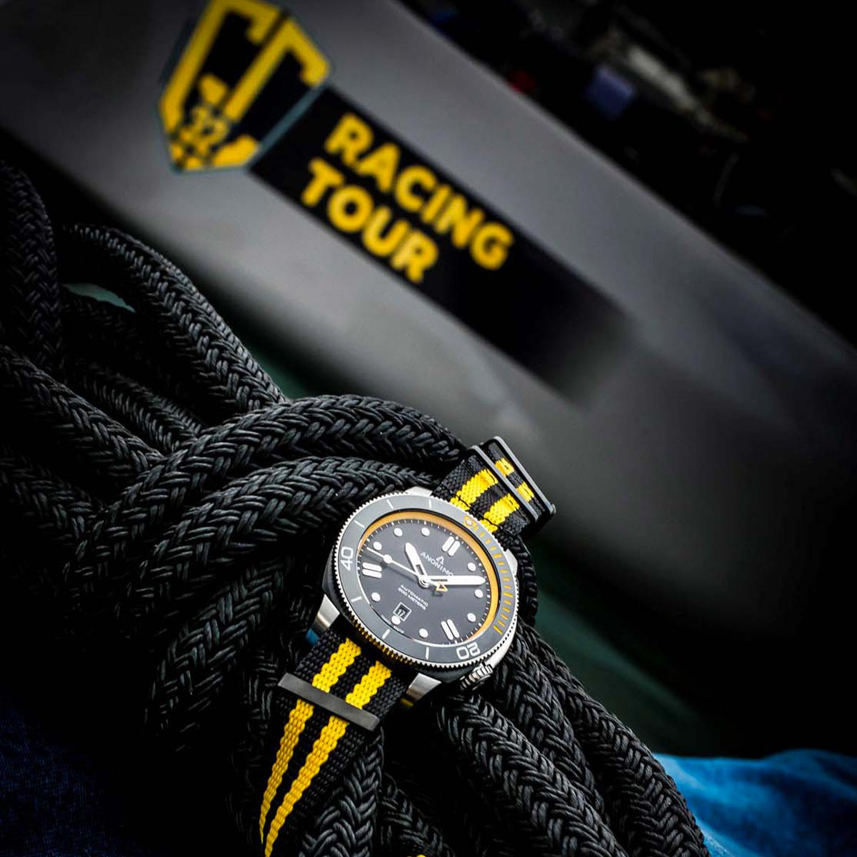 La Cote des Montres : Photo - Anonimo Chronométreur officiel du GC32 Racing Tour 2018