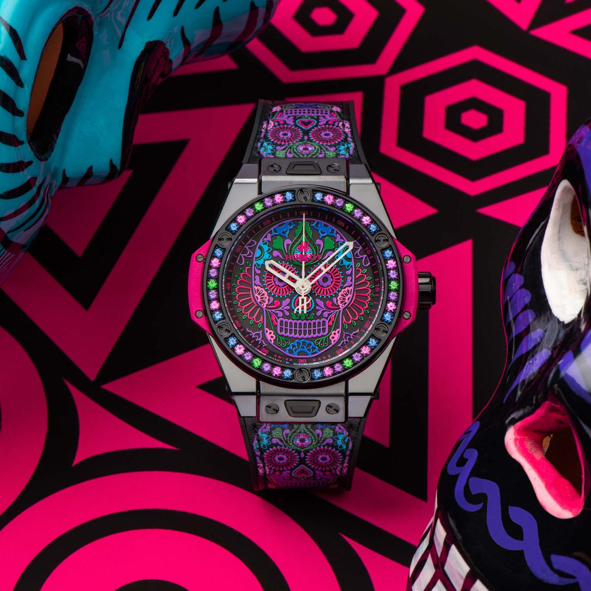 The Watch Quote: Photo - Hublot Big Bang One Click Calavera Catrina Siar Mexico