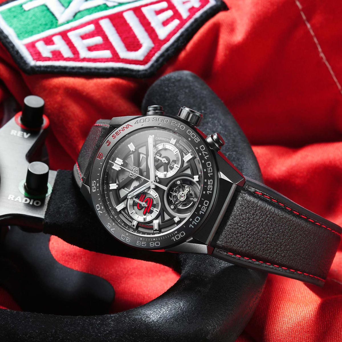 The Watch Quote: Photo - TAG Heuer Carrera new Ayrton Senna Special Editions