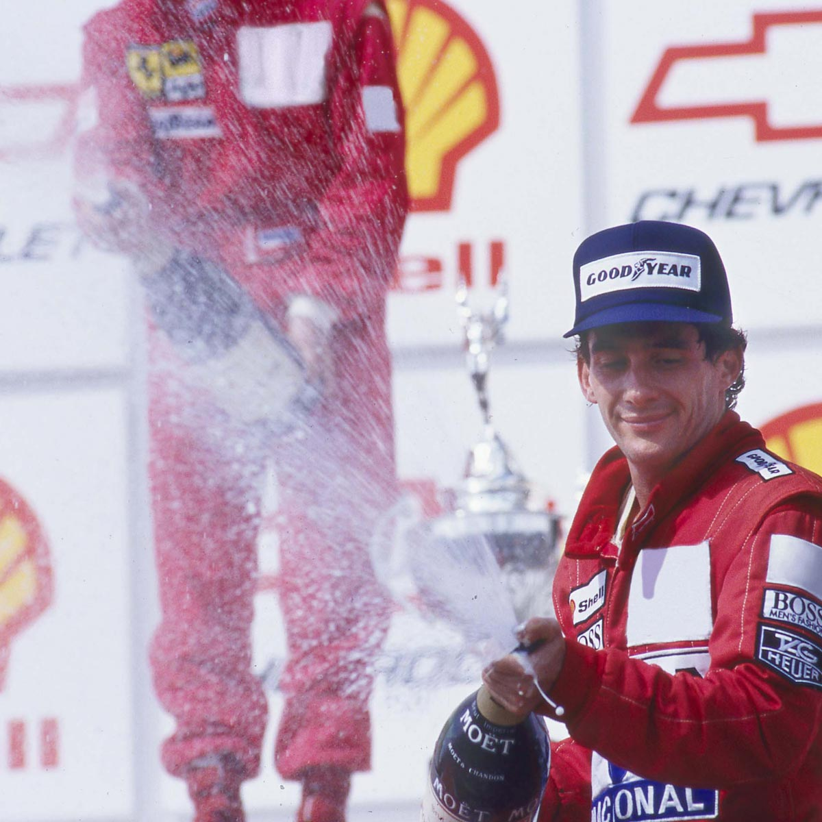 La Cote des Montres : Photo - TAG Heuer Chronographe Tourbillon Edition Spéciale Ayrton Senna