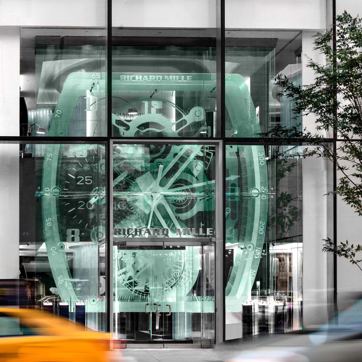 La Cote des Montres : Photo - Richard Mille ouvre un flagship à New York