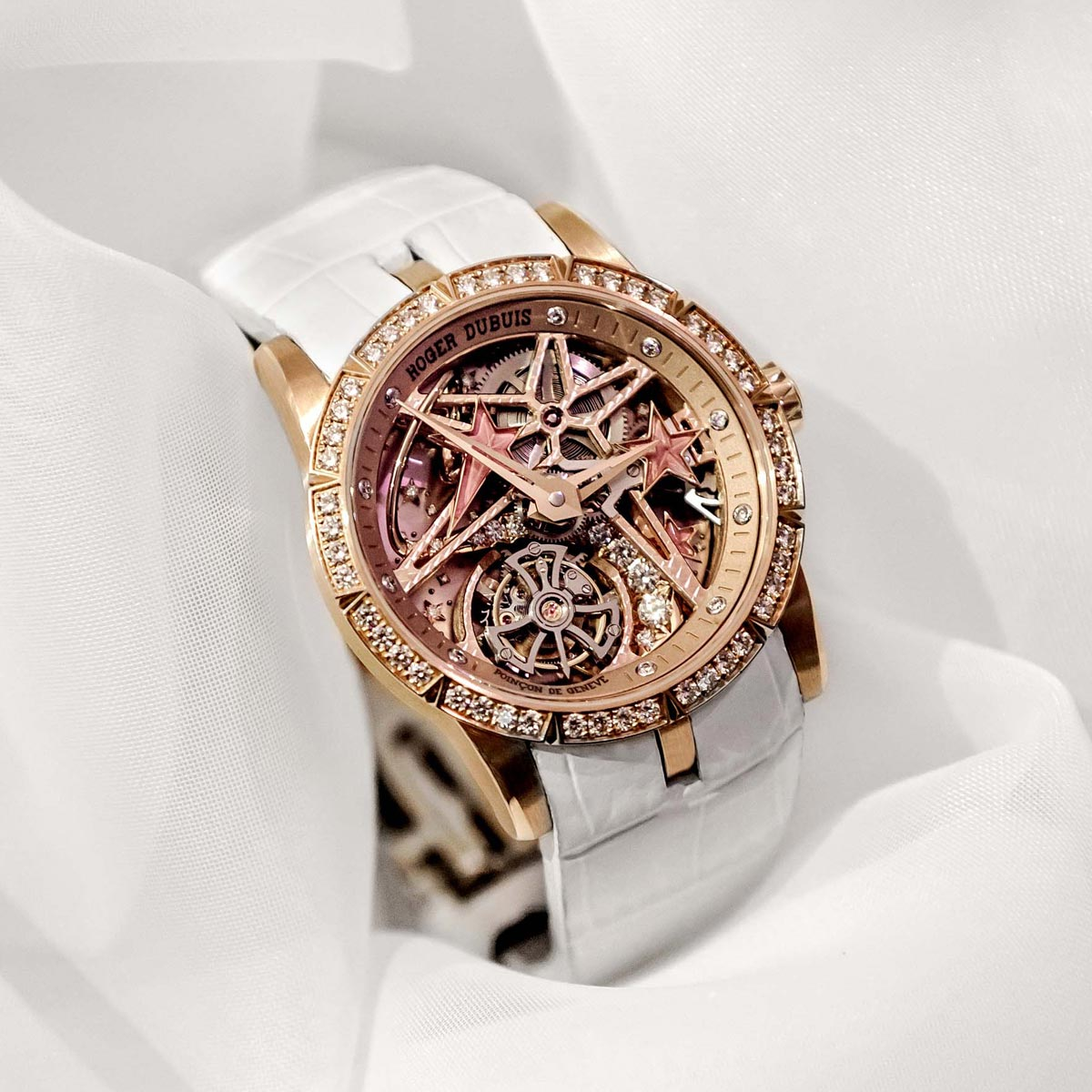 The Watch Quote: Photo - Roger Dubuis - Mad but Swiss event rocks Macau