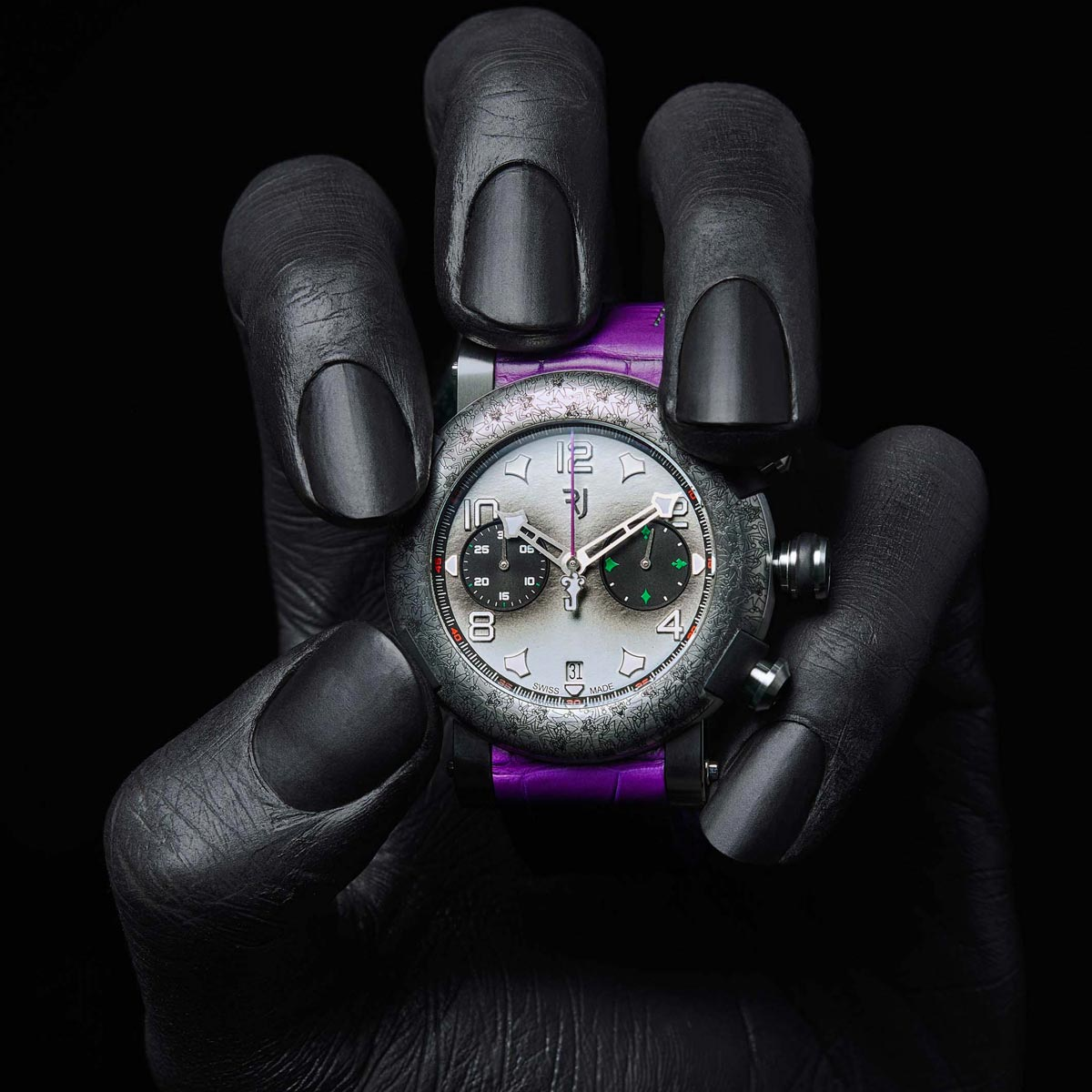 La Cote des Montres : Photo - RJ Arraw Villain The Joker Titanium