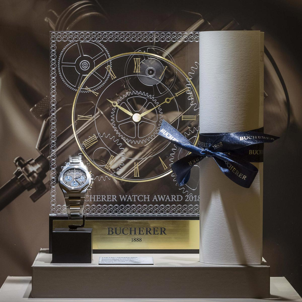 La Cote des Montres : Photo - « Bucherer Watch Award 2018 » : And the winner is .
