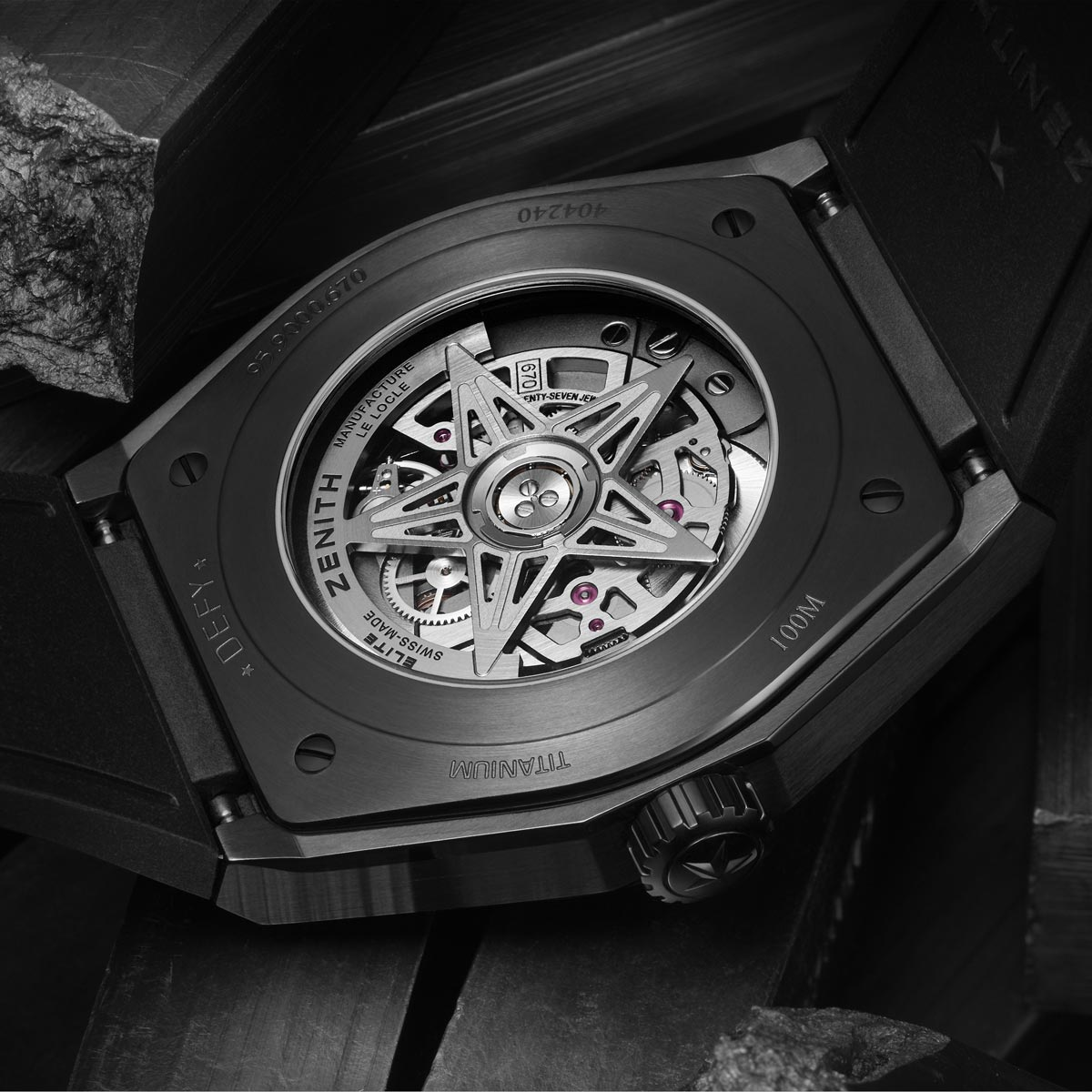 The Watch Quote: Photo - Zenith Defy Classic Black Ceramic