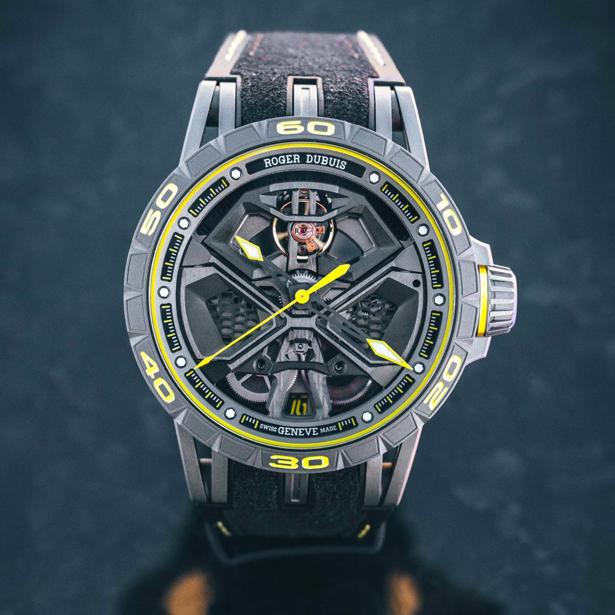 The Watch Quote: Photo - Roger Dubuis Excalibur Huracán Performante