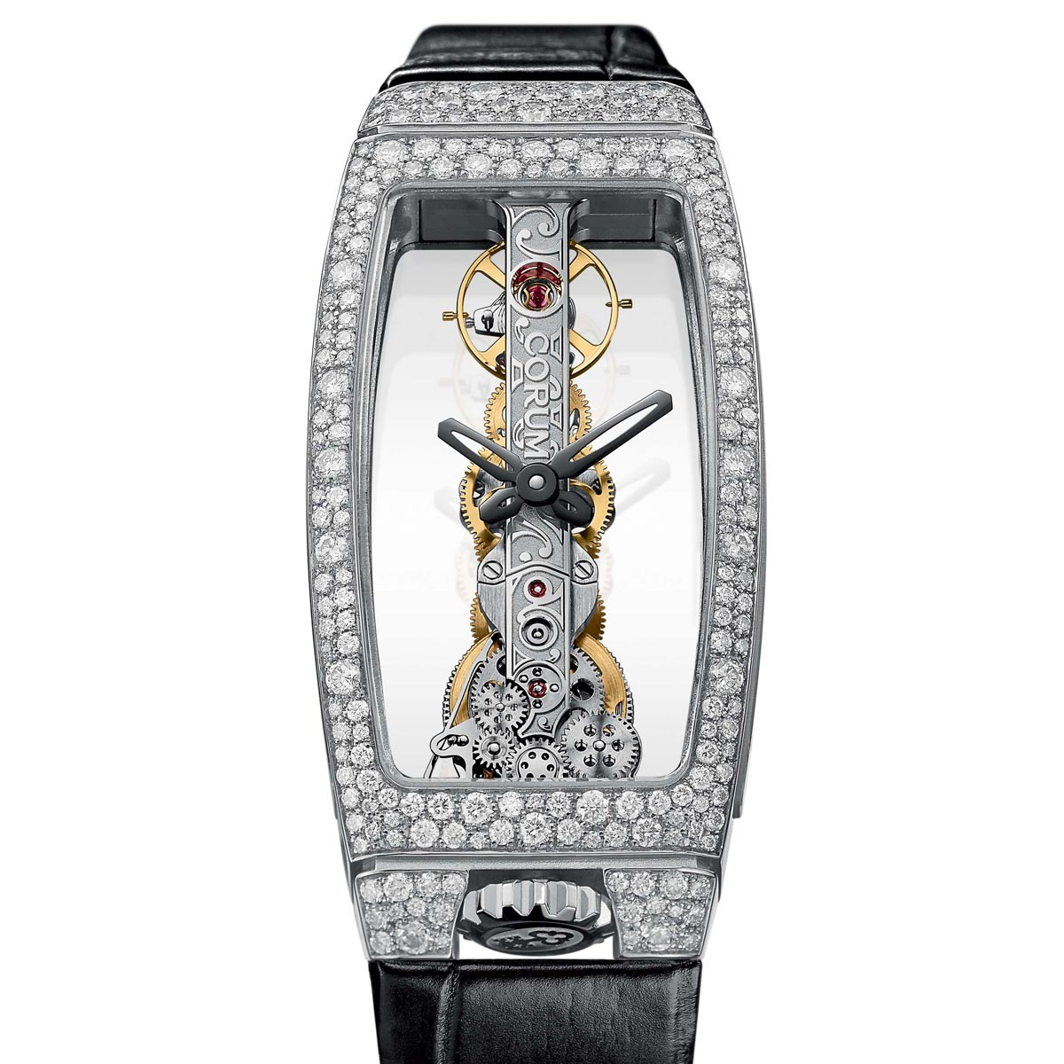 The Watch Quote: Photo - For Christmas, Corum covers its Golden Bridges in snow