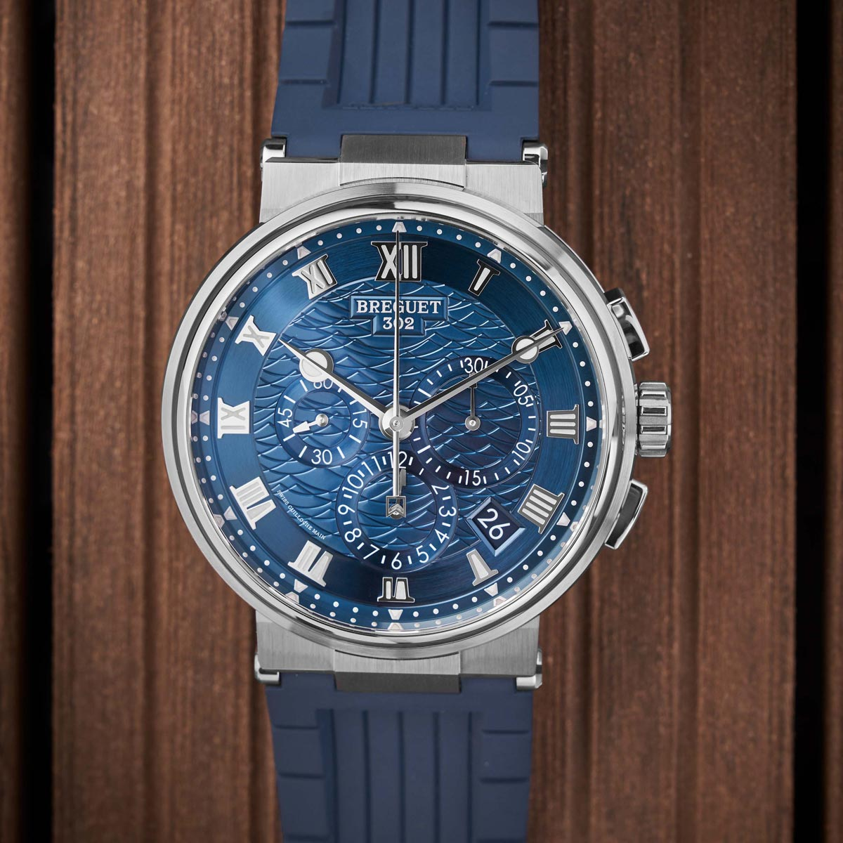 La Cote des Montres : Photo - La Marine de Breguet, collection maritime d'exception