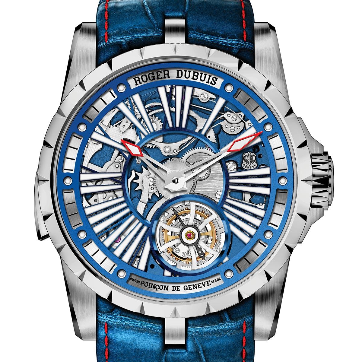 La Cote des Montres : Photo - Lancement de la Roger Dubuis Hyperwatch Excalibur Millésime