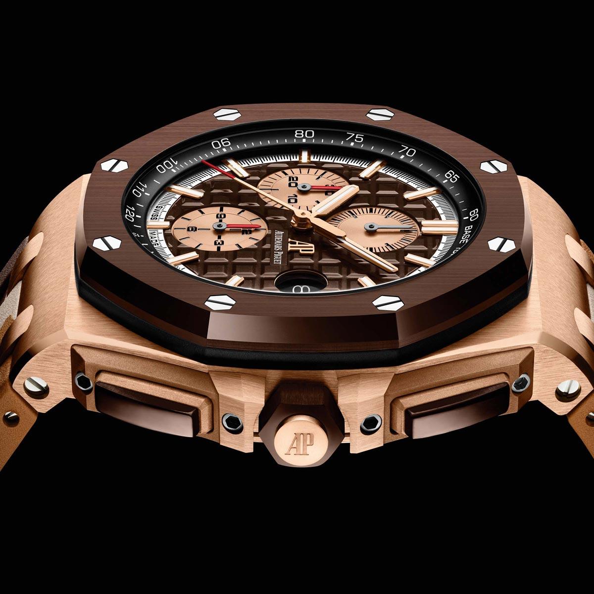 La Cote des Montres : Photo - Audemars Piguet dévoile ses nouveaux chronographes Royal Oak Offshore