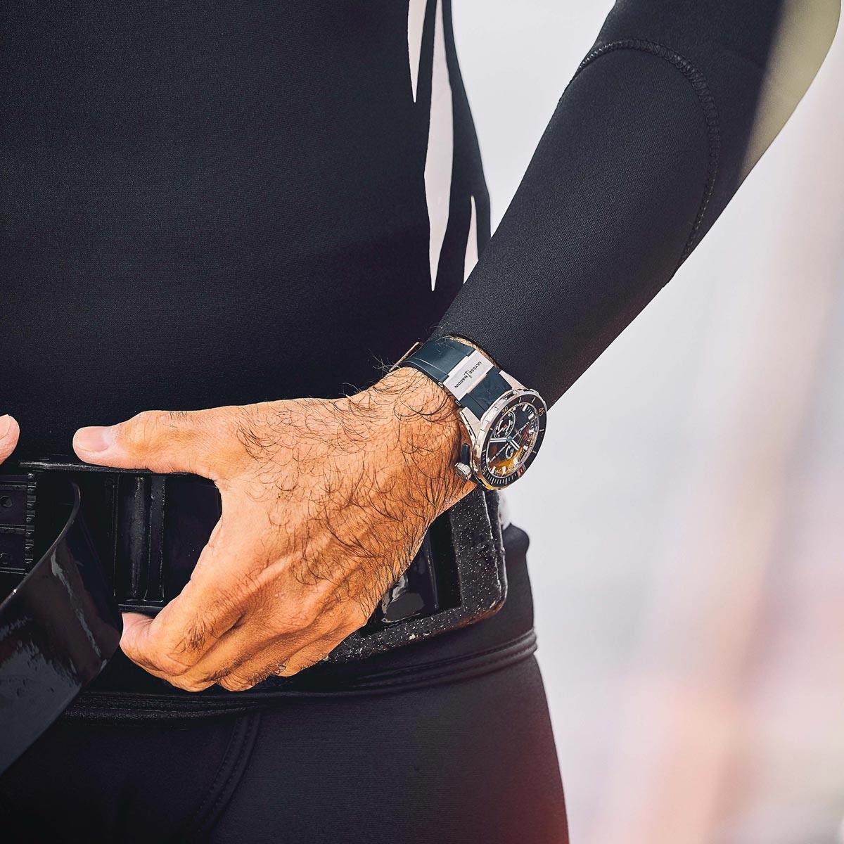 La Cote des Montres : Photo - Ulysse Nardin nouvelle collection Diver Chronometer