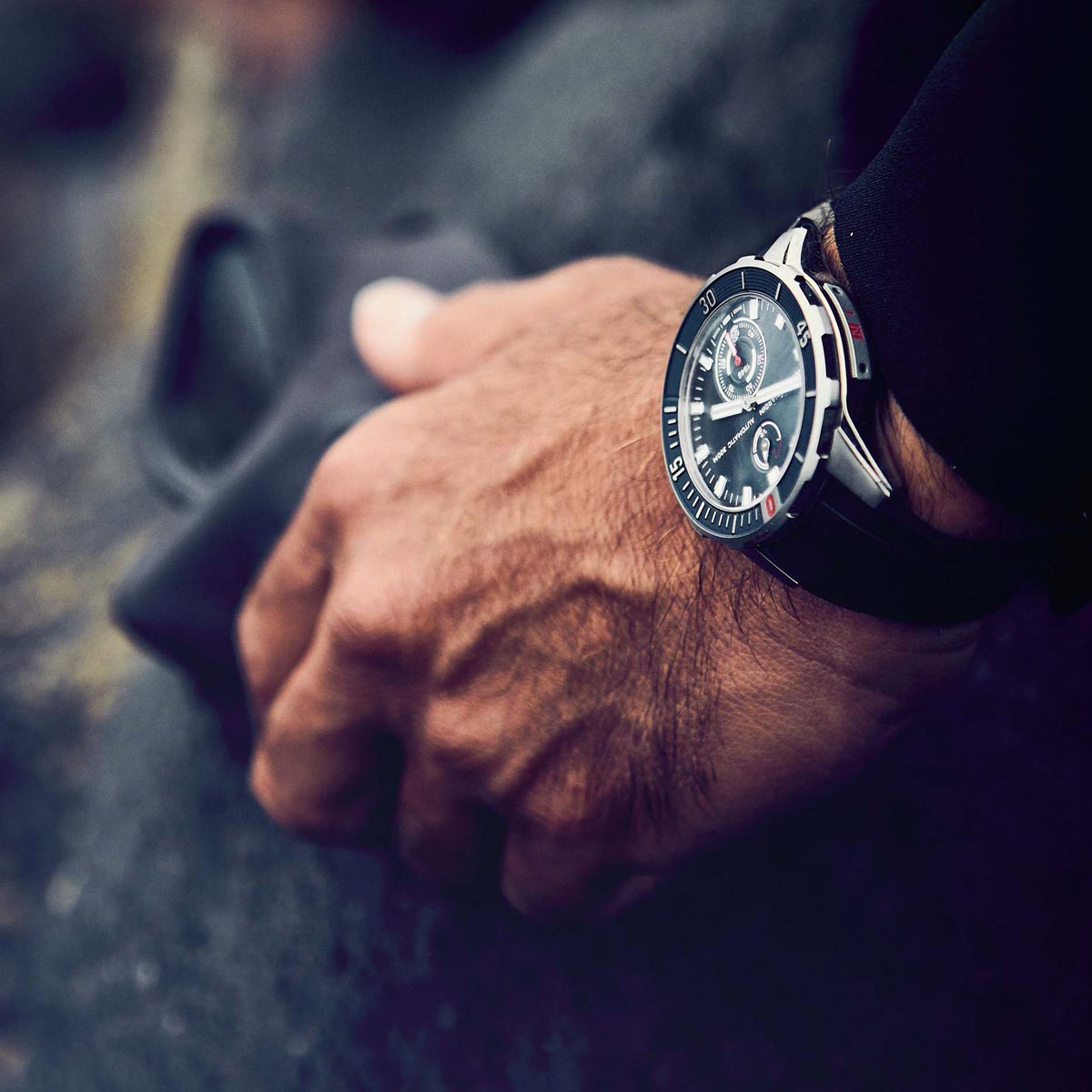 La Cote des Montres : Photo - Ulysse Nardin nouvelle collection Diver Chronometer
