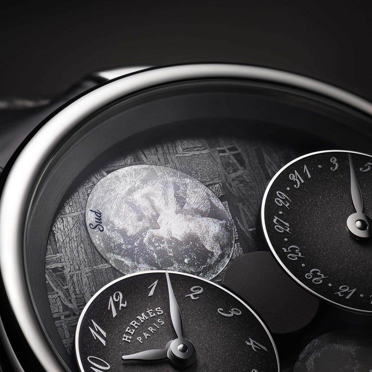 La Cote des Montres : Photo - Hermès Arceau L'heure de la lune