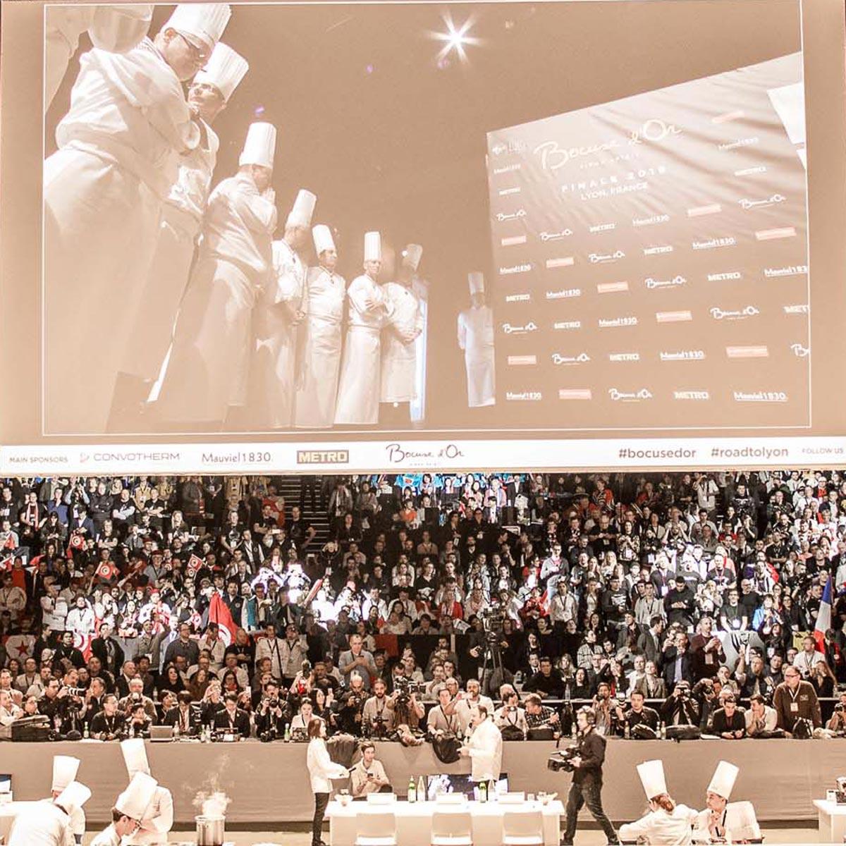 La Cote des Montres : Photo - Hublot chronométreur officiel du Bocuse d'Or 2019