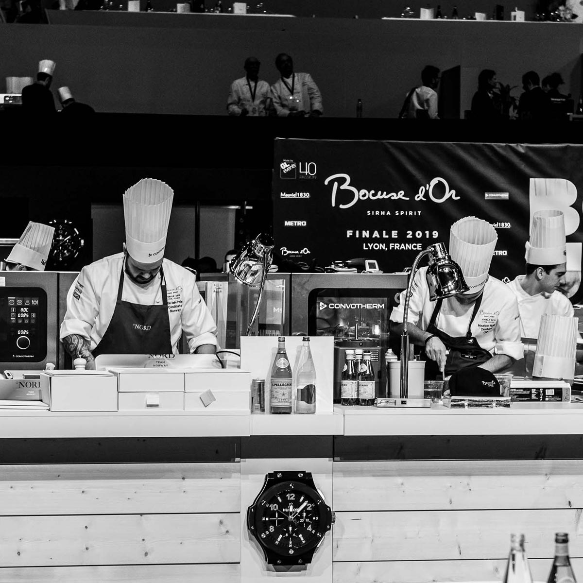 La Cote des Montres : Photo - Hublot chronométreur officiel du Bocuse d'Or 2019