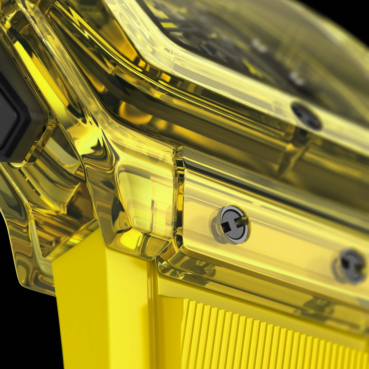 La Cote des Montres : Photo - Hublot Spirit of Big Bang Yellow Sapphire 42MM