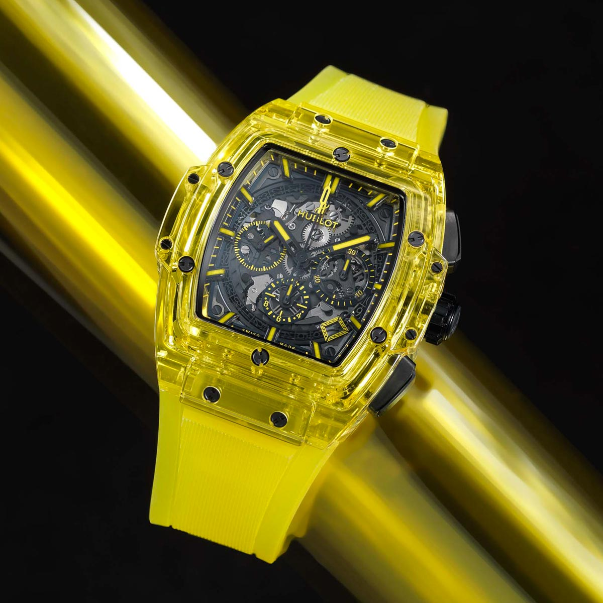 The Watch Quote: Photo - Hublot Spirit of Big Bang Yellow Sapphire 42MM