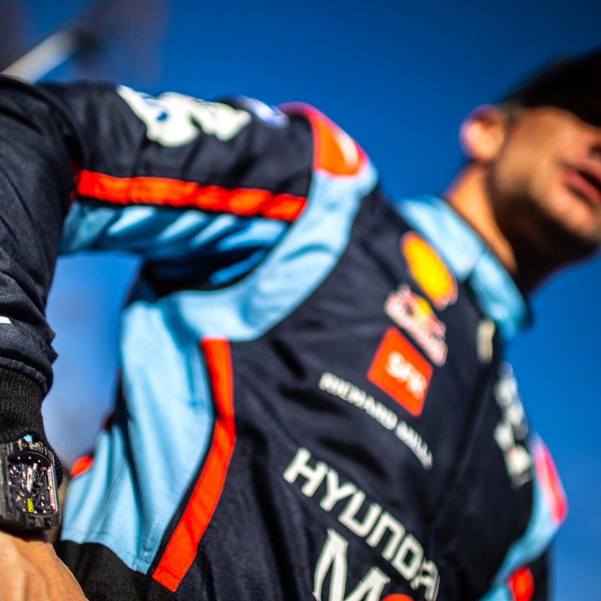 La Cote des Montres : Photo - 87e Rallye de Monte-Carlo : remarquables performances des pilotes Richard Mille
