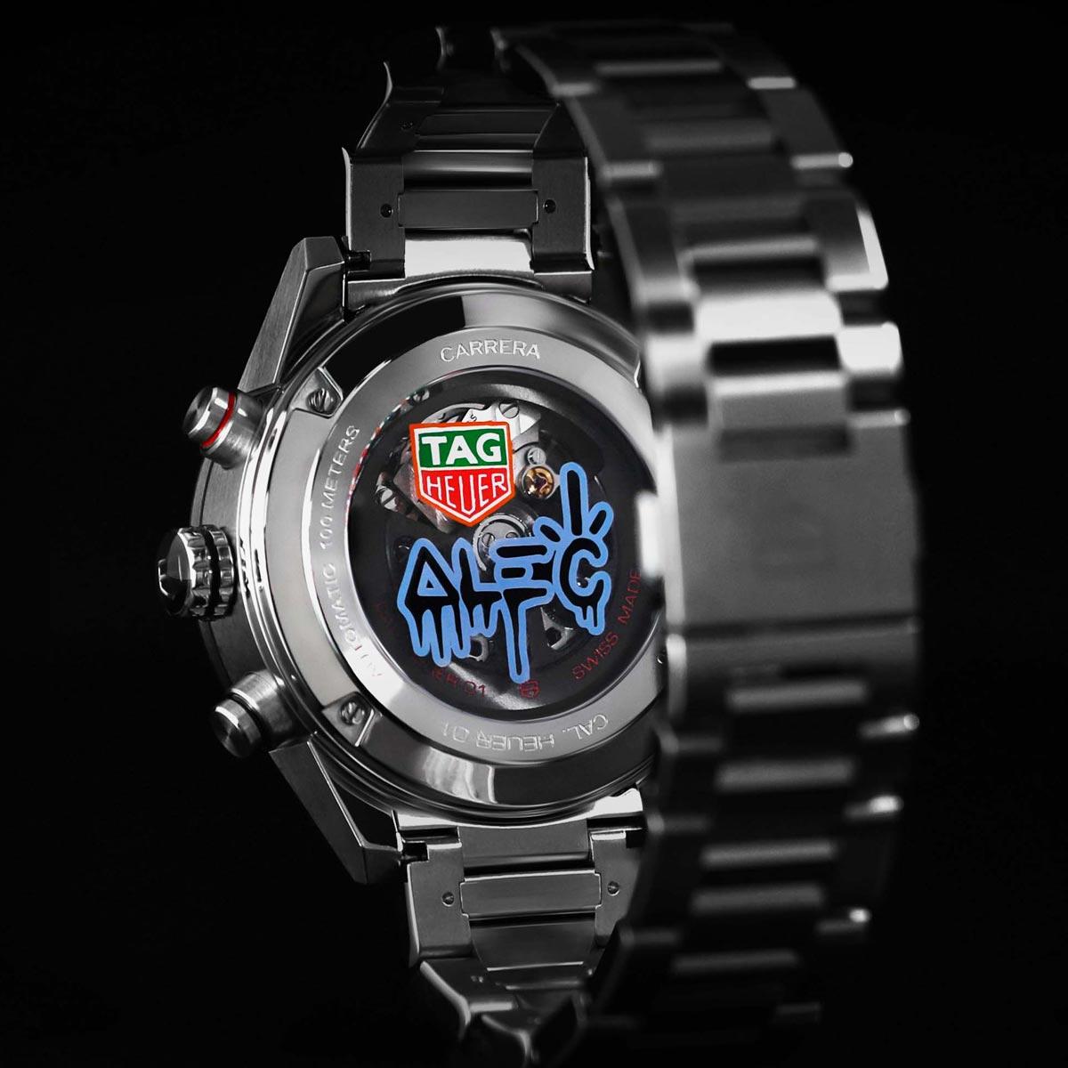 La Cote des Montres : Photo - Alec Monopoly signe  deux nouvelles montres pour TAG Heuer