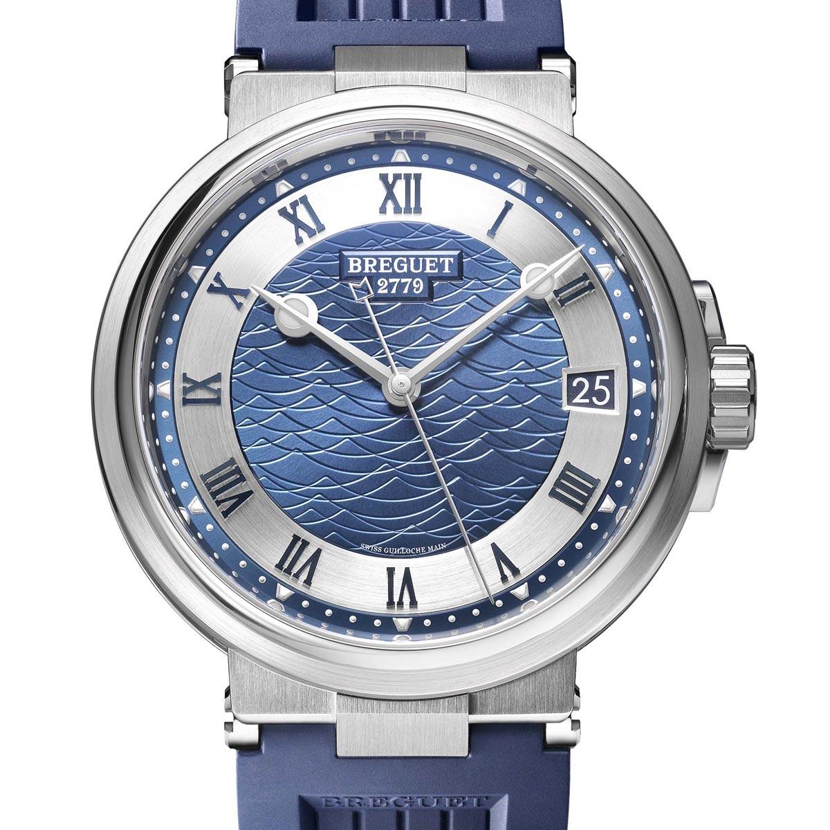 La Cote des Montres : Photo - Breguet Marine 5517 Bucherer Blue Editions