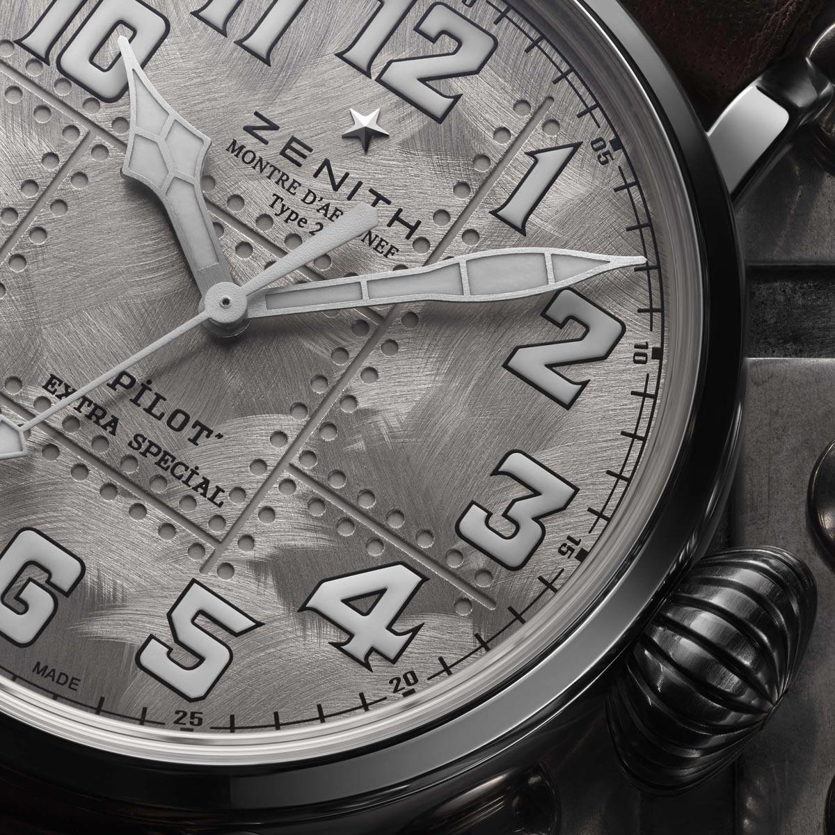 La Cote des Montres : Photo - Zenith Pilot Type 20 Extra Special Silver
