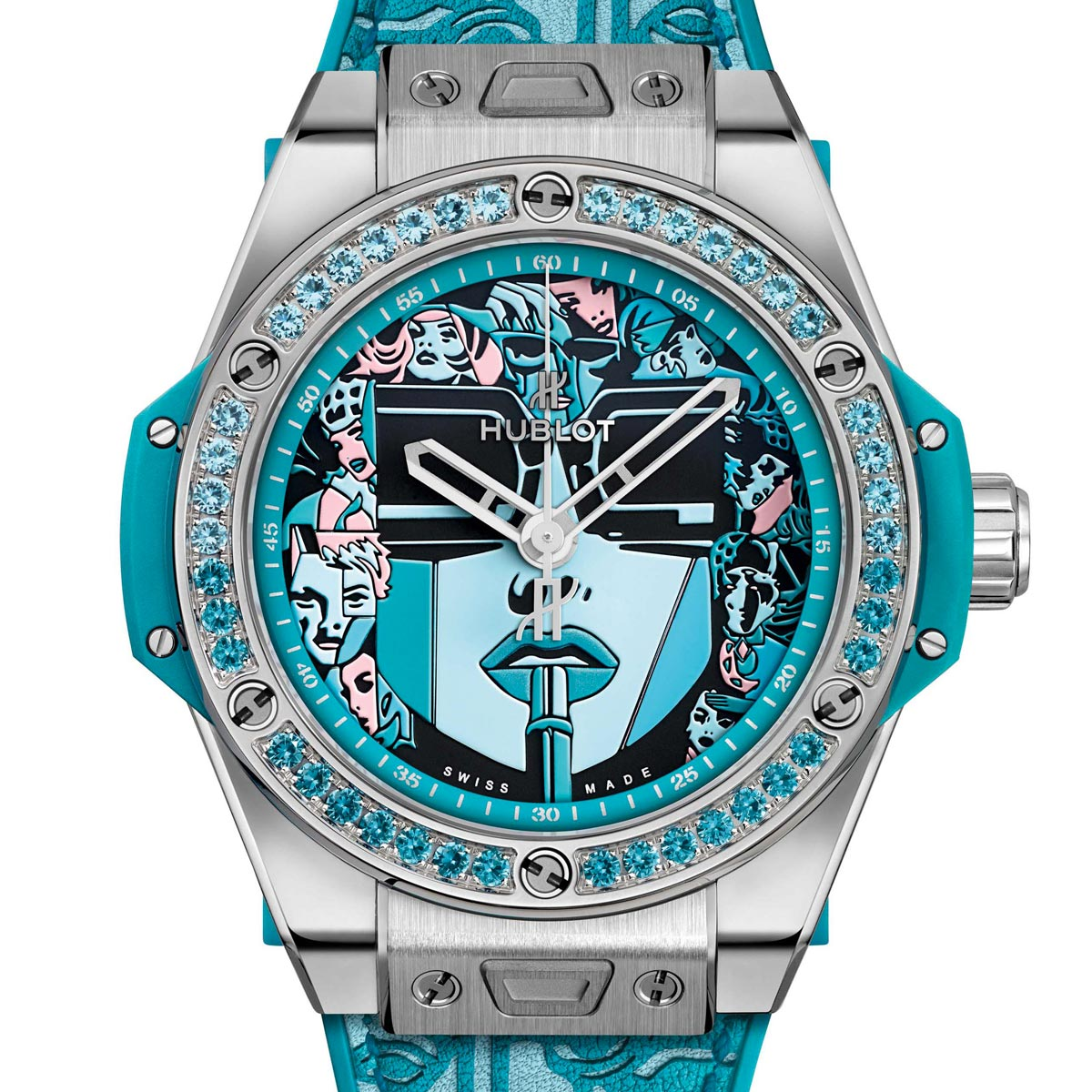 The Watch Quote: Photo - Hublot Big Bang One Click Marc Ferrero