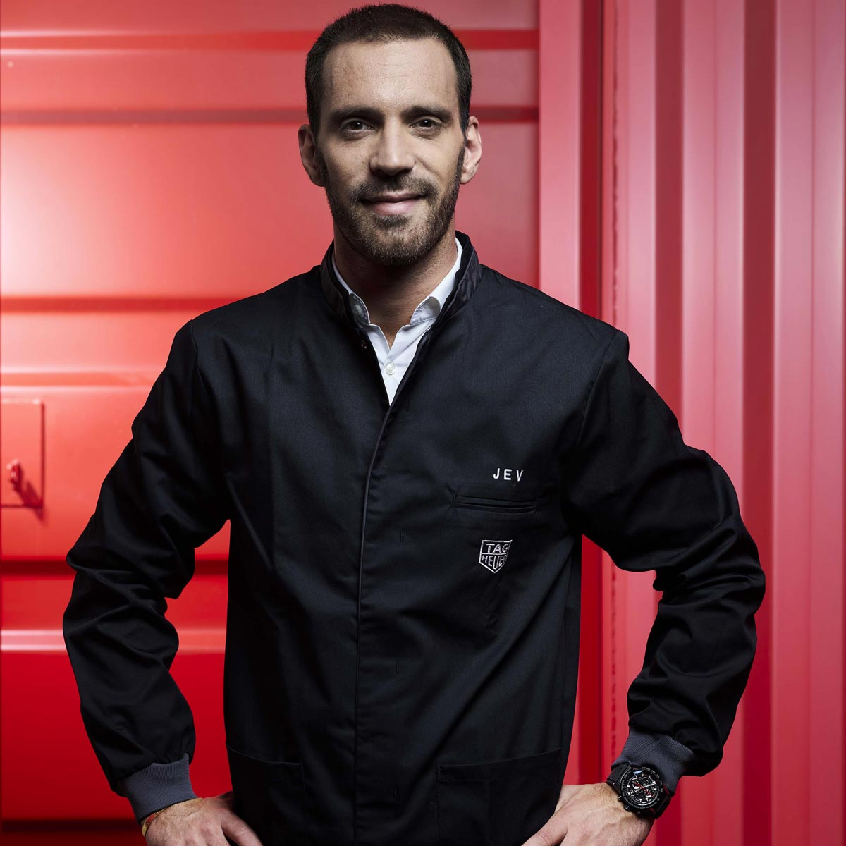 The Watch Quote: Photo - TAG Heuer announces Formula E driver Jean-Éric Vergne as its new brand ambassador