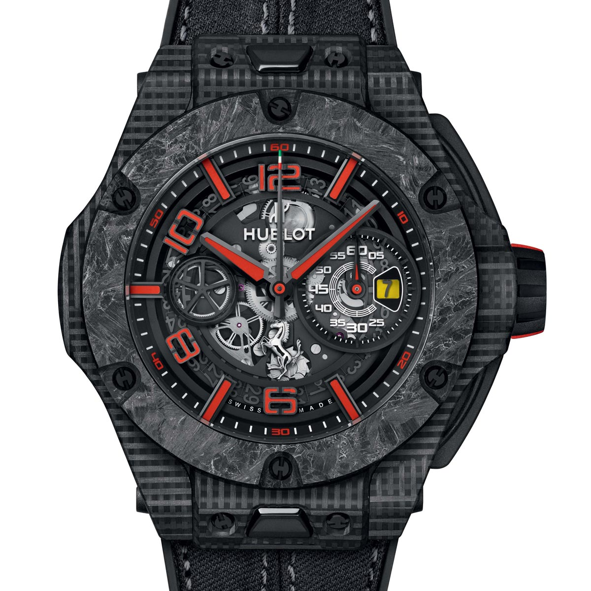 La Cote des Montres : Photo - Hublot Big Bang Scuderia Ferrari 90th Anniversary