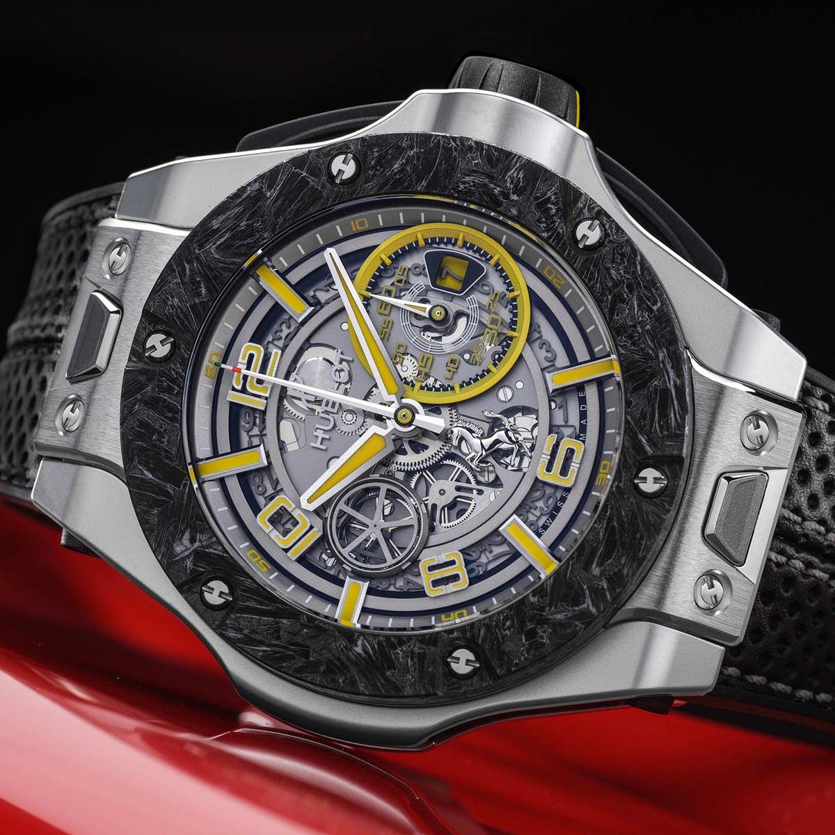 La Cote des Montres : Photo - Hublot Big Bang Scuderia Ferrari 90th Anniversary