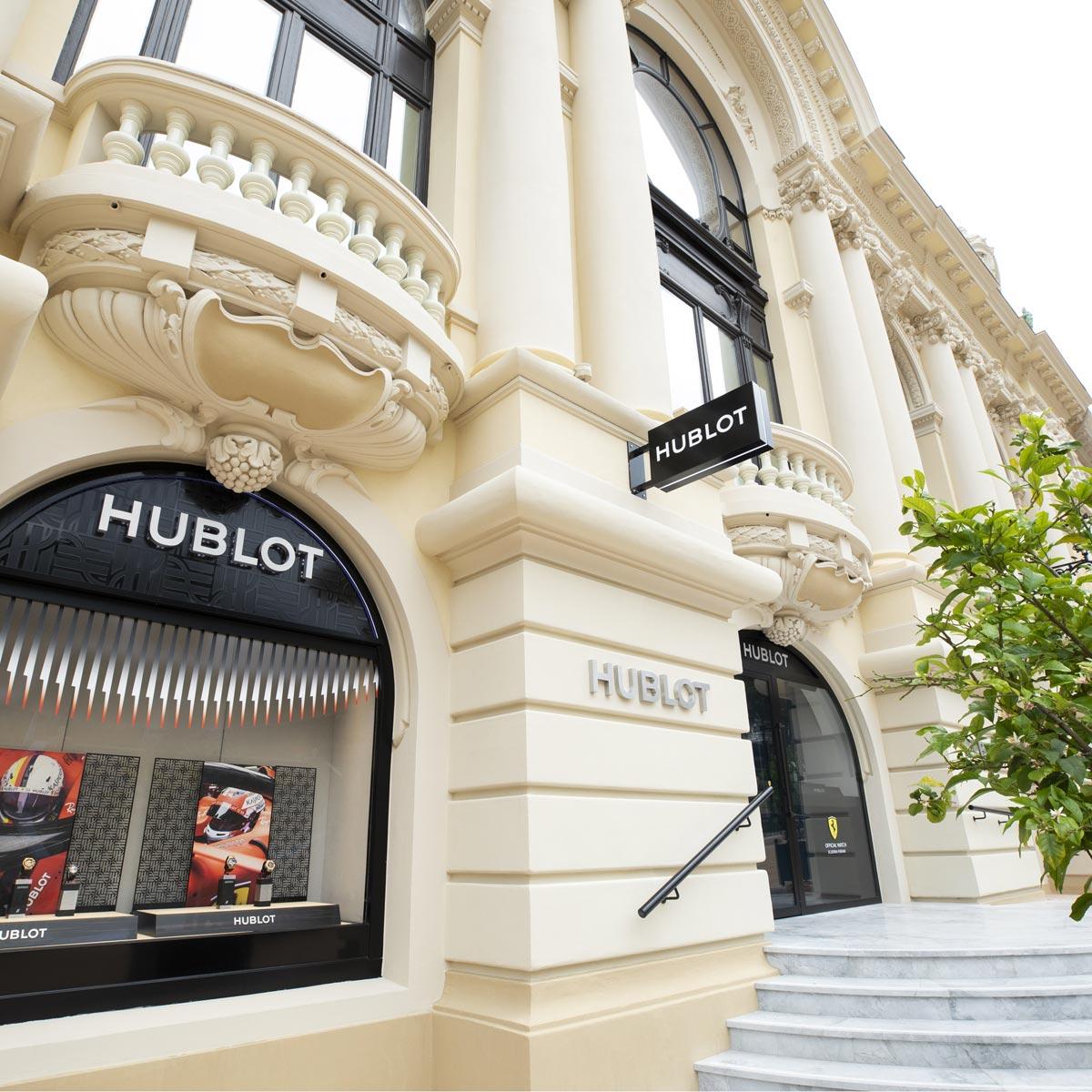 La Cote des Montres : Photo - Hublot en pôle position à Monaco