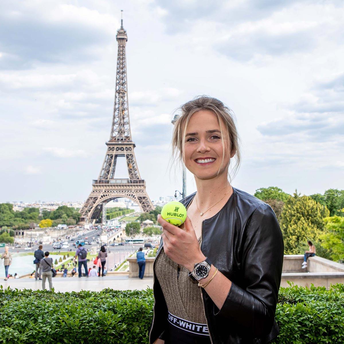 La Cote des Montres : Photo - Jeu, set et match Hublot !