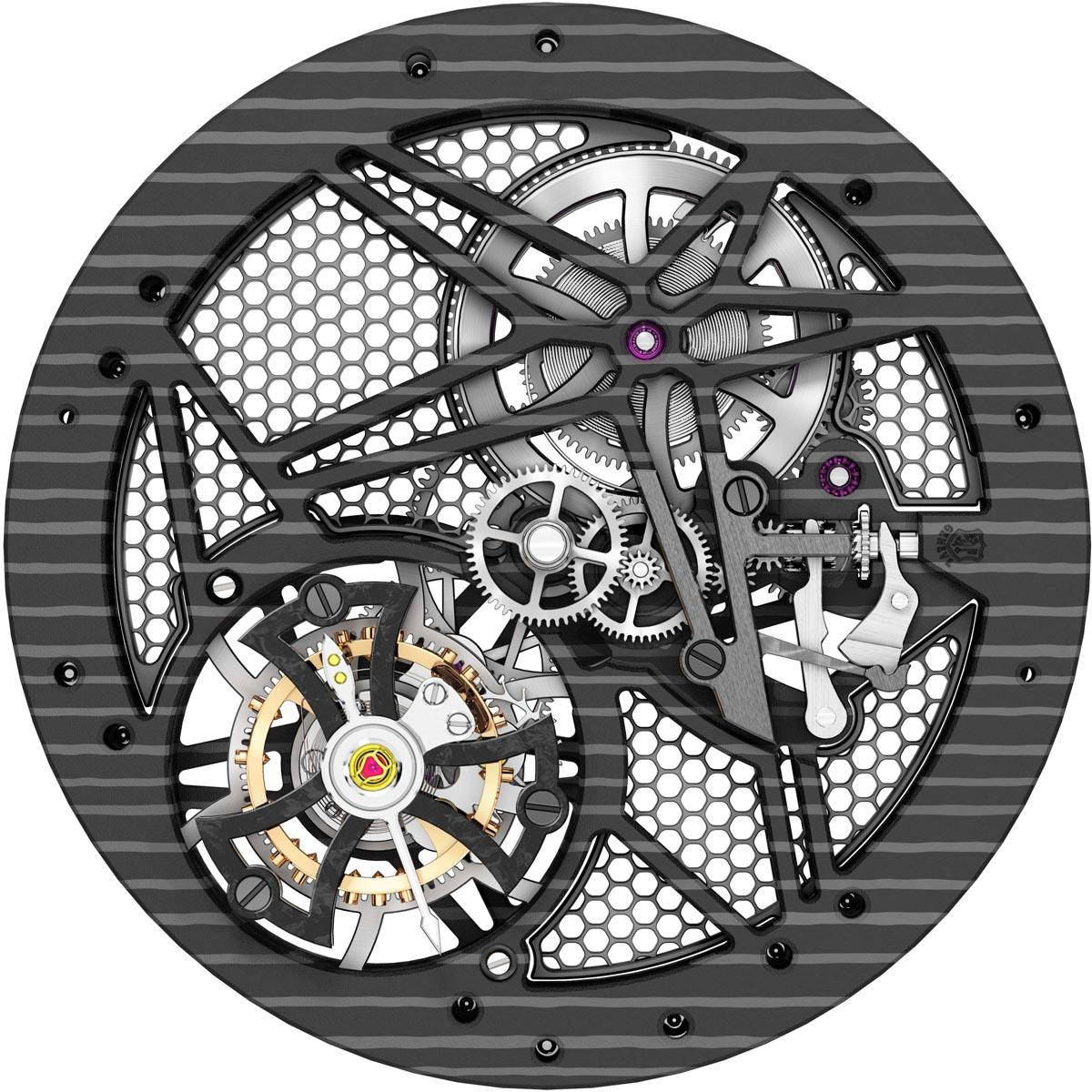 La Cote des Montres : Photo - Roger Dubuis Excalibur Spider Carbon³