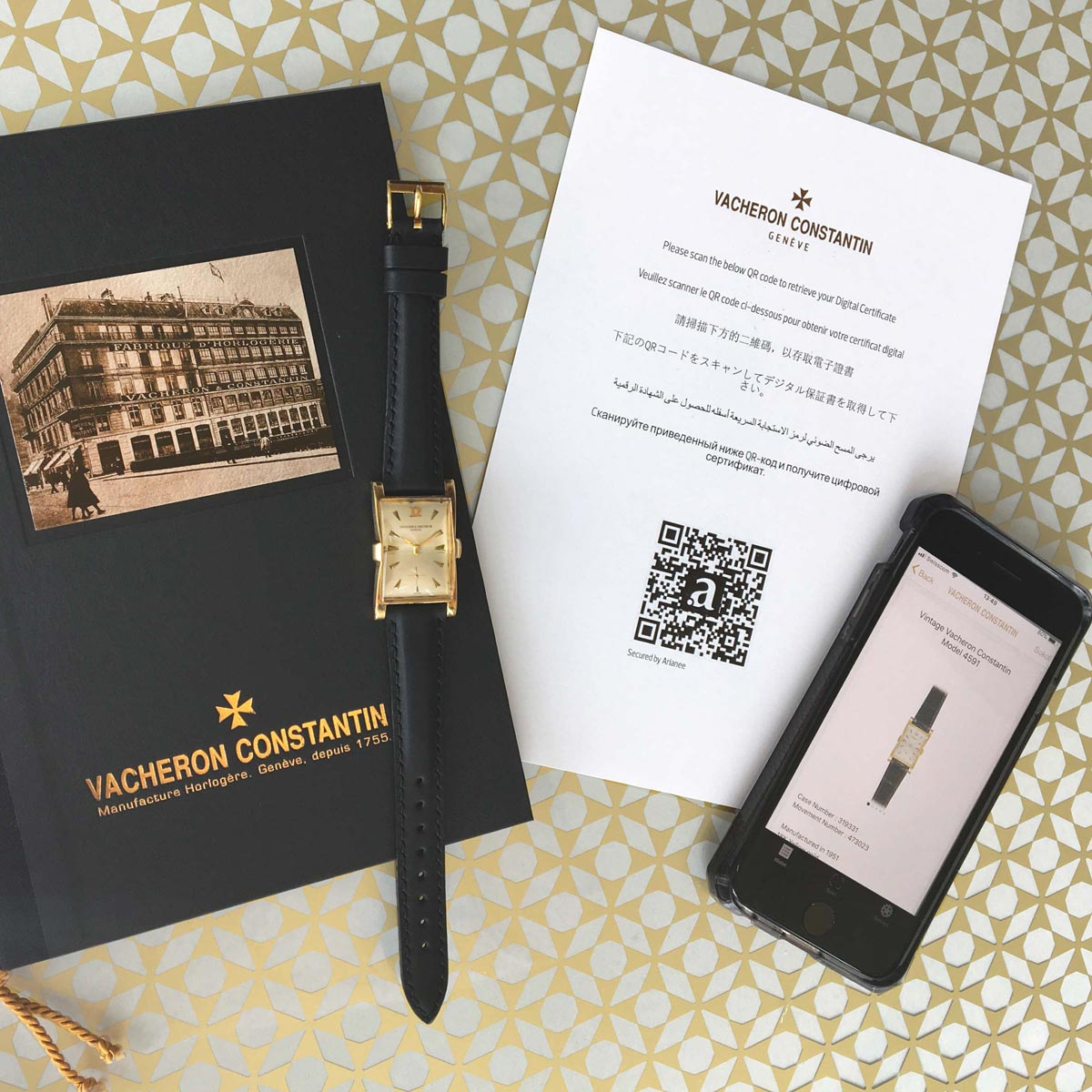 The Watch Quote: Photo - Vacheron Constantin is committing to a certification process supported by Blockchain technology