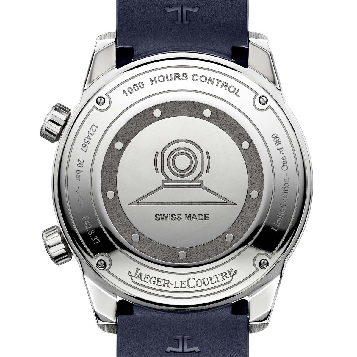La Cote des Montres : Photo - Jaeger-Lecoultre Polaris Date