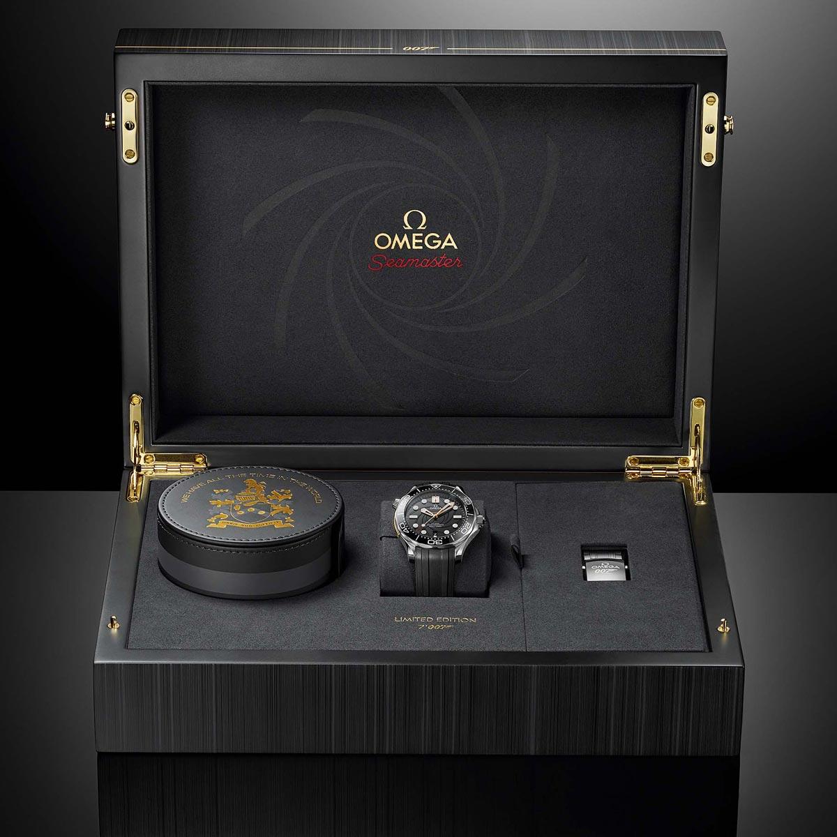 La Cote des Montres : Photo - Une nouvelle Omega en l'honneur d'un classique de la saga James Bond