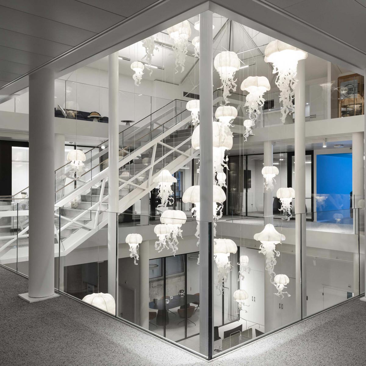 La Cote des Montres : Photo - « Arcades des Arts » un nom, deux fondations
