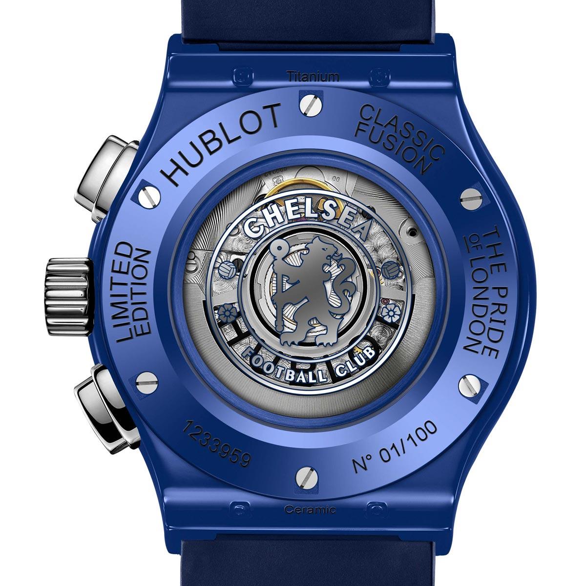 La Cote des Montres : Photo - Hublot Classic Fusion Chronograph Chelsea FC