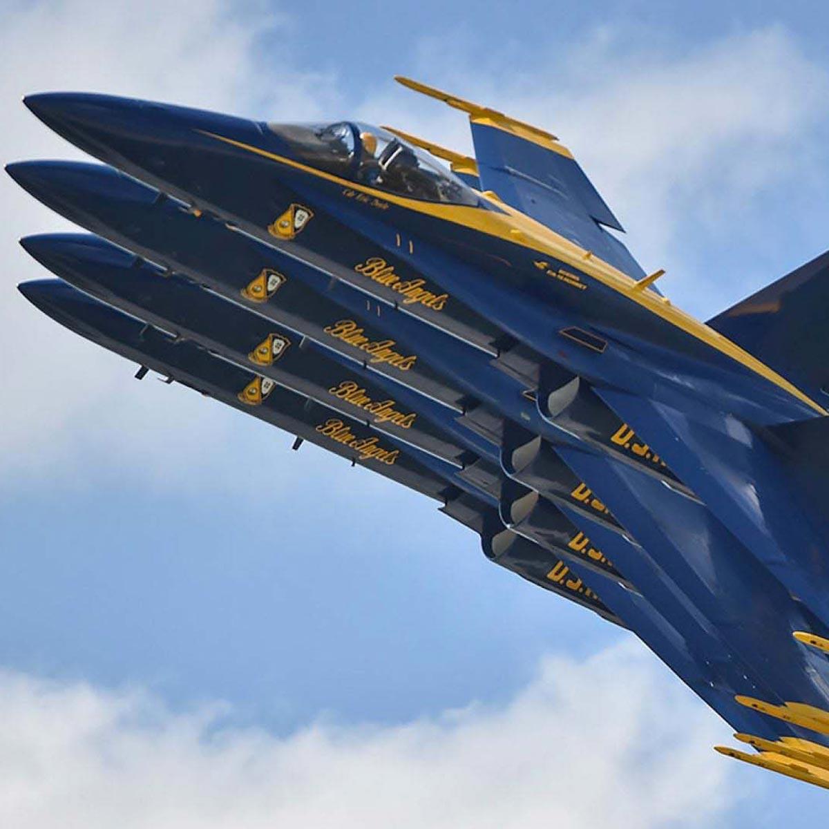 La Cote des Montres : Photo - IWC dédie une édition spéciale aux « Blue Angels® »