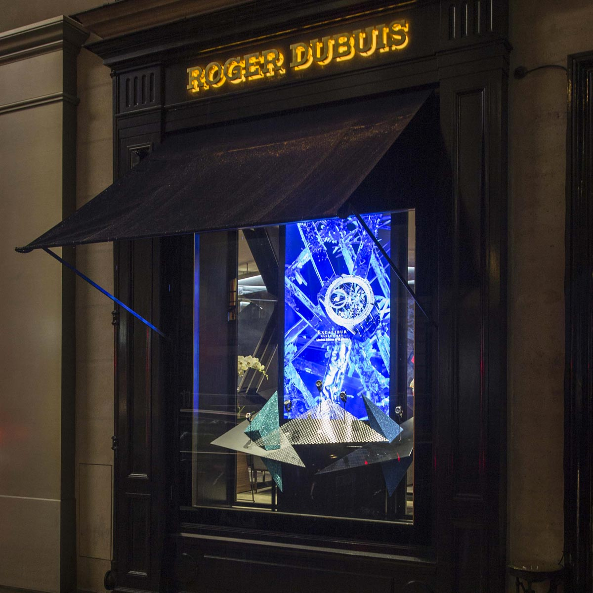 La Cote des Montres : Photo - Roger Dubuis au cœur de Paris