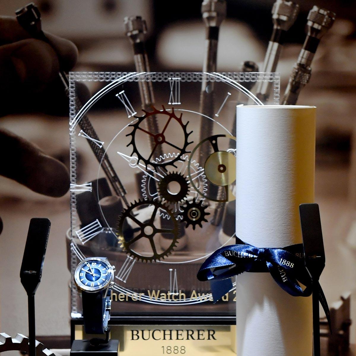 La Cote des Montres : Photo - La Maison Bucherer dévoile le garde-temps de l'année