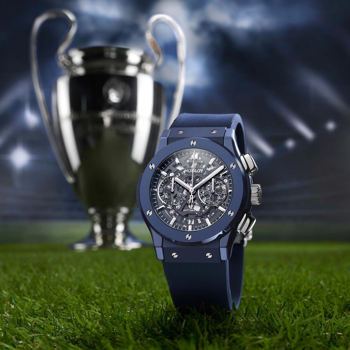 La Cote des Montres : Photo - Hublot ClassicFusion Aerofusion Chronograph UEFA Champions League