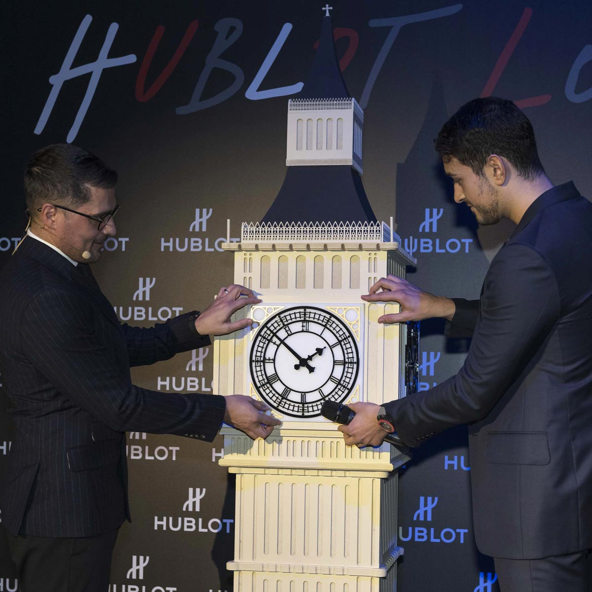 "La Cote des Montres : Photo - Hublot Classic Fusion 45 mm Special Edition ""London�"