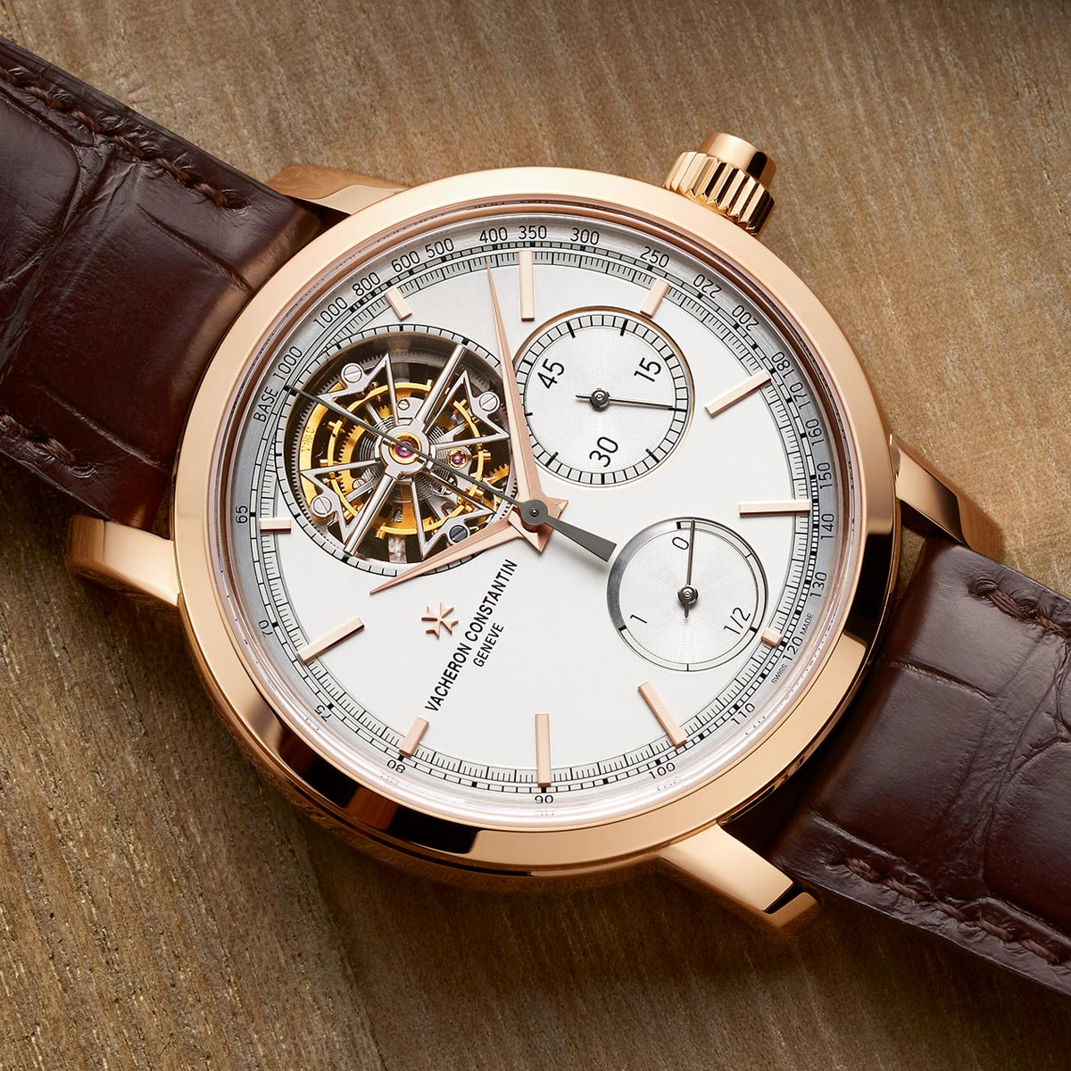 La Cote des Montres : Photo - Vacheron Constantin Traditionnelle Tourbillon Chronographe