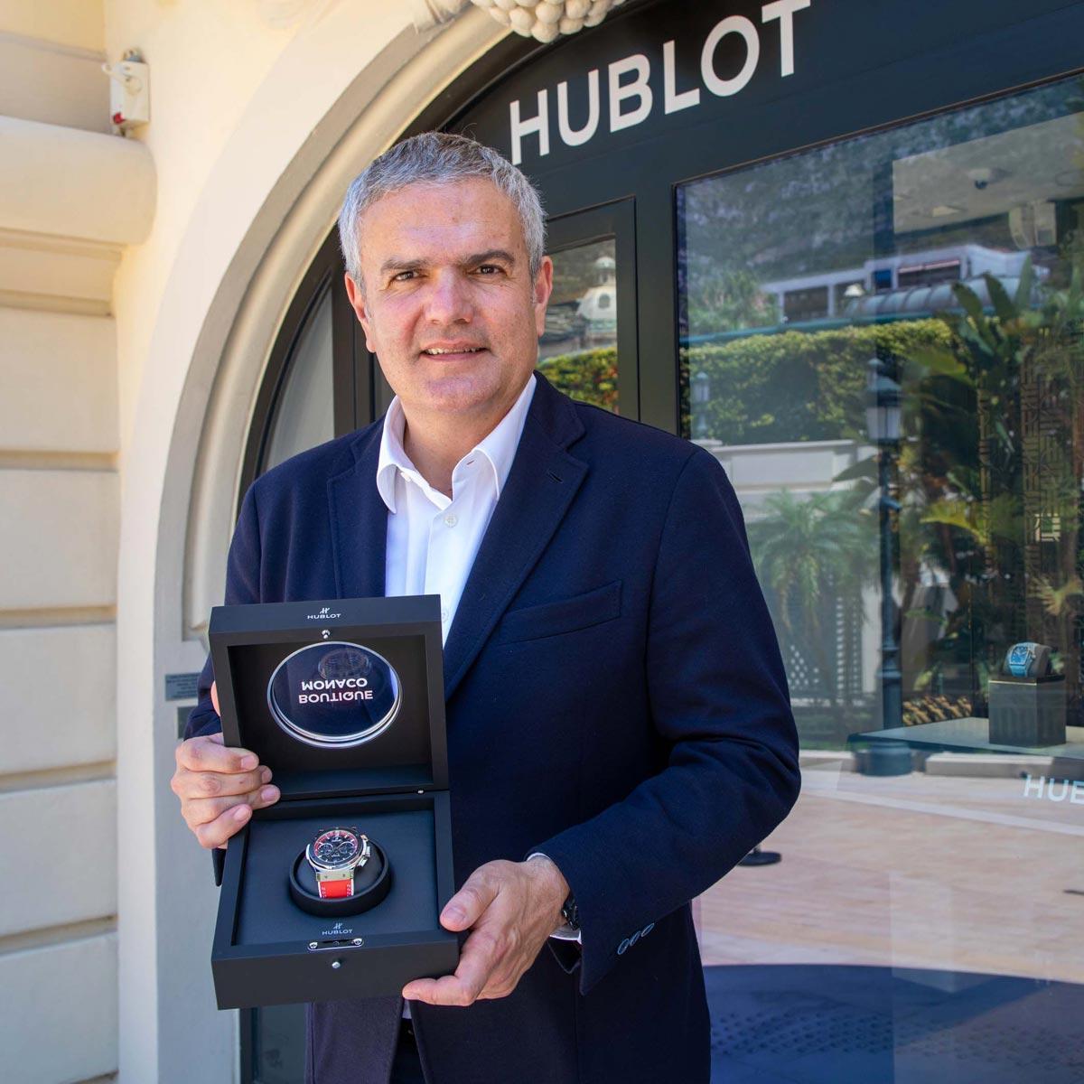 La Cote des Montres : Photo - Hublot ClassicFusion Aerofusion Chronograph SpecialEdition « BoutiqueMonaco »