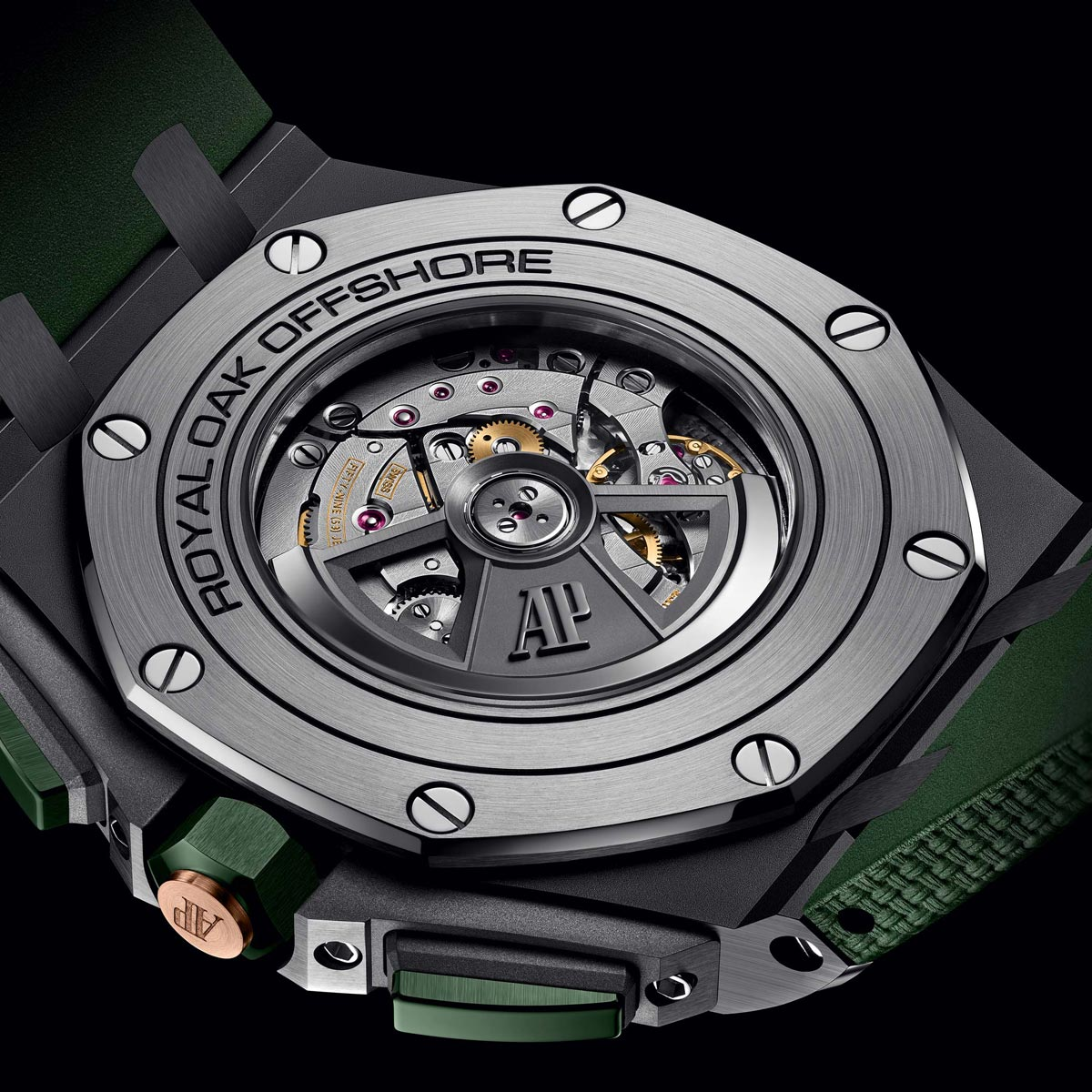 La Cote des Montres : Photo - Audemars Piguet Royal Oak Offshore Chronographe Automatique / 44 mm