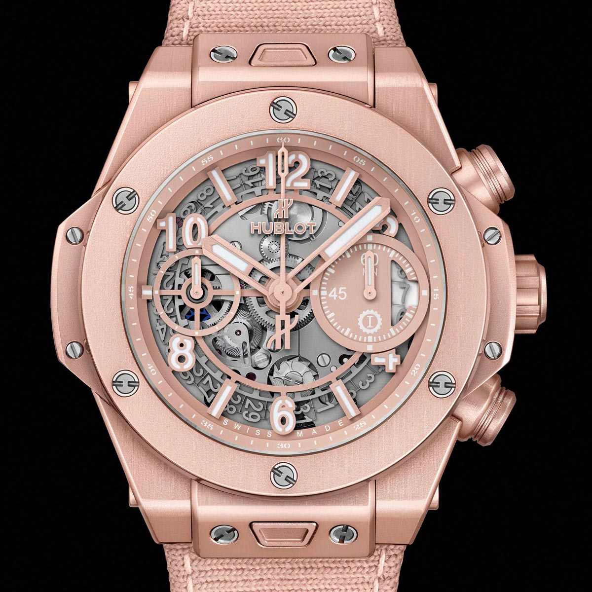 La Cote des Montres : Photo - Hublot Big Bang Millennial Pink